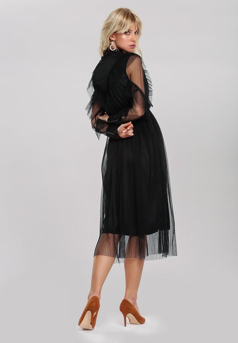 Czarna Sukienka Aubrie