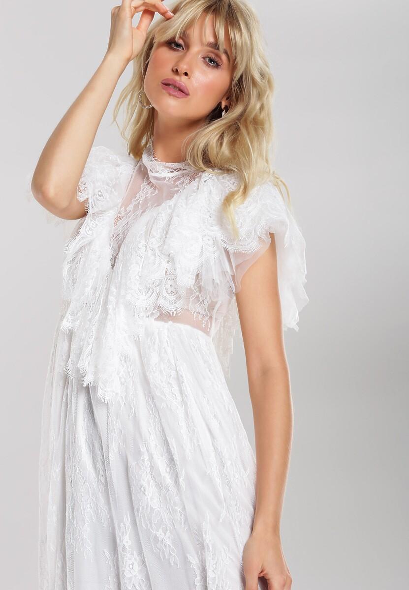 Biała Sukienka Katalina