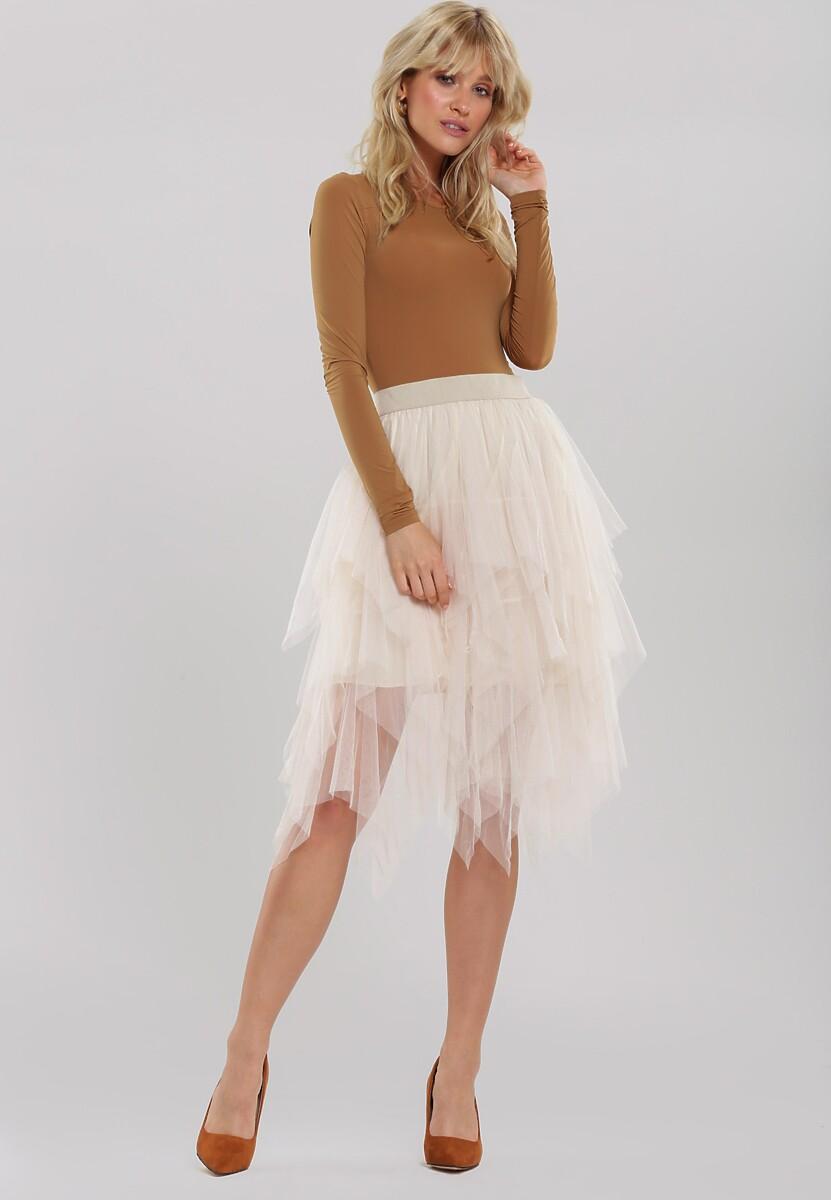 Kremowa Spódnica Harlee