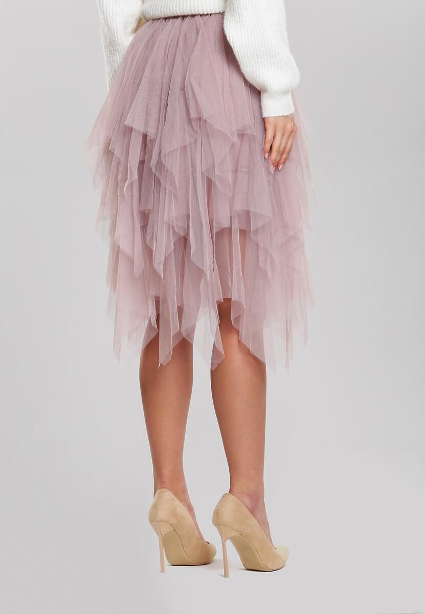 Ciemnoróżowa Spódnica Harlee