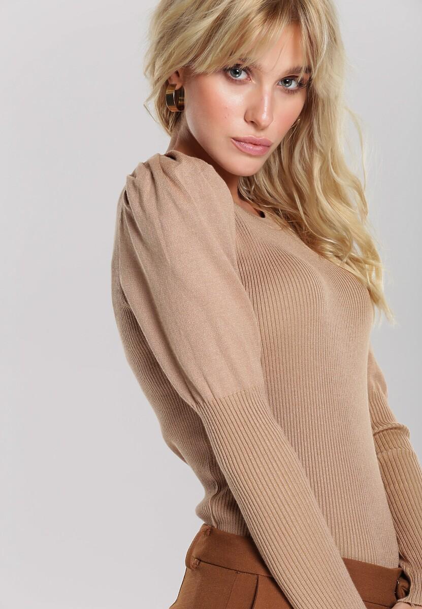 Ciemnobeżowy Sweter Spellbinding