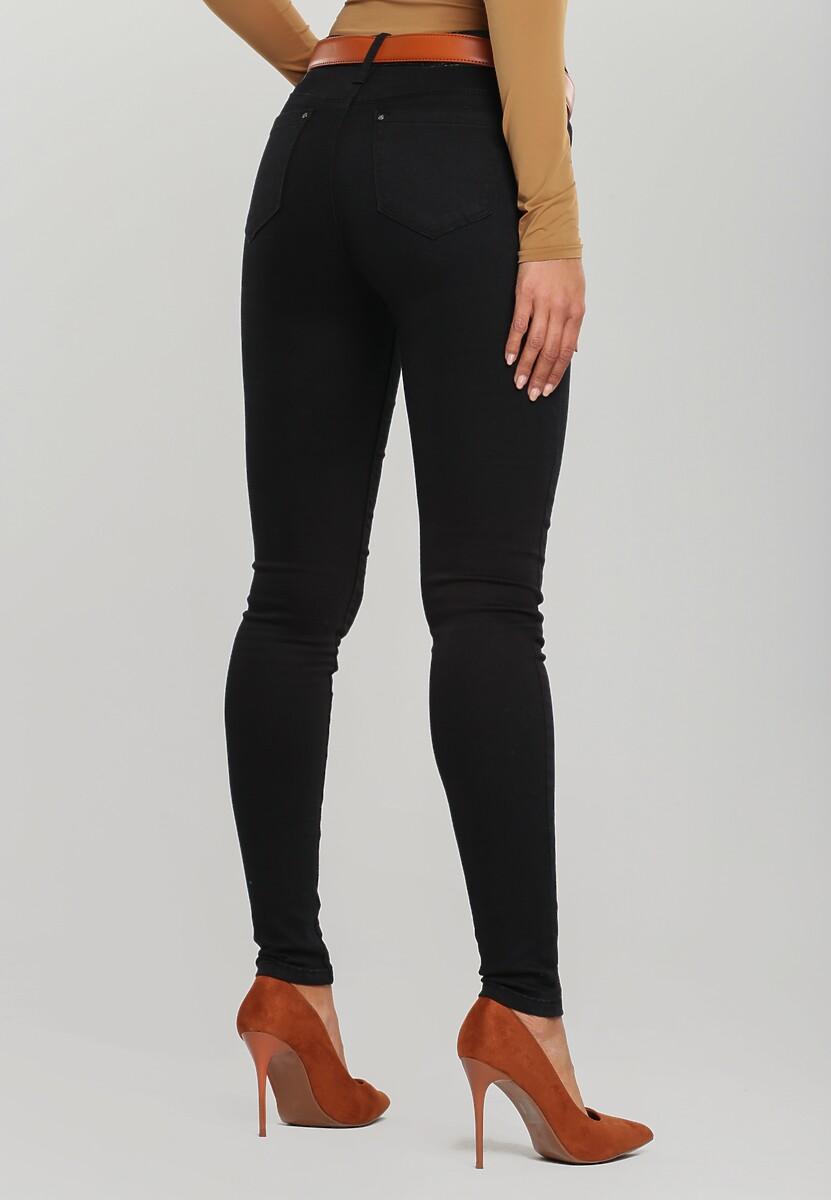 Czarne Spodnie Itzayana
