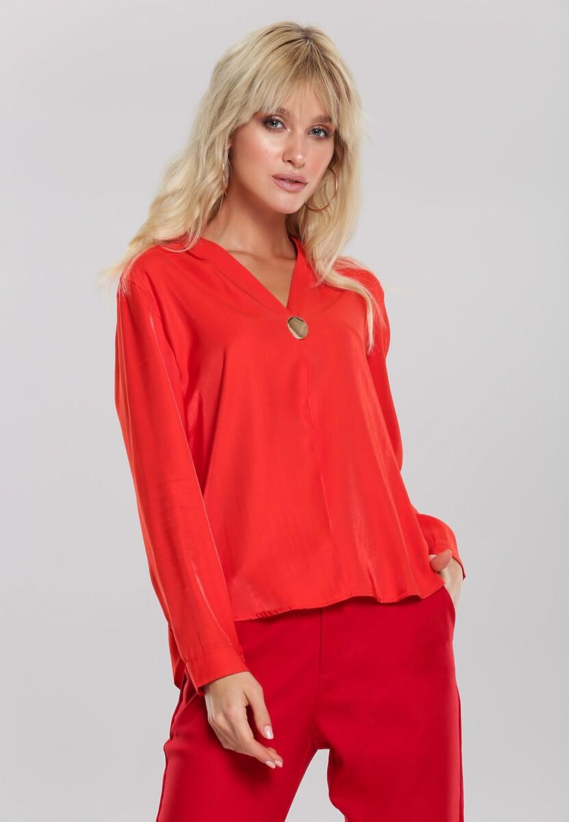 Pomarańczowa Koszula Alena