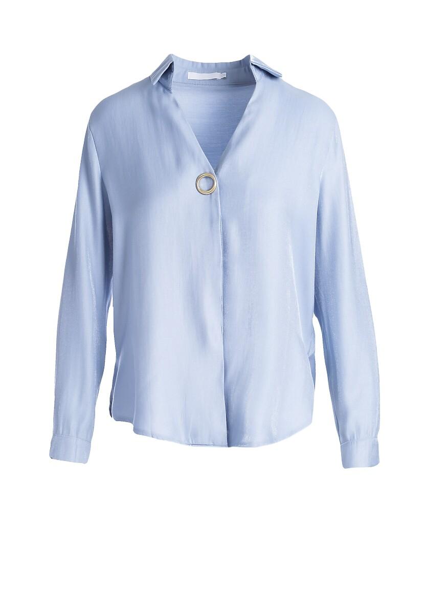 Jasnoniebieska Koszula Kori
