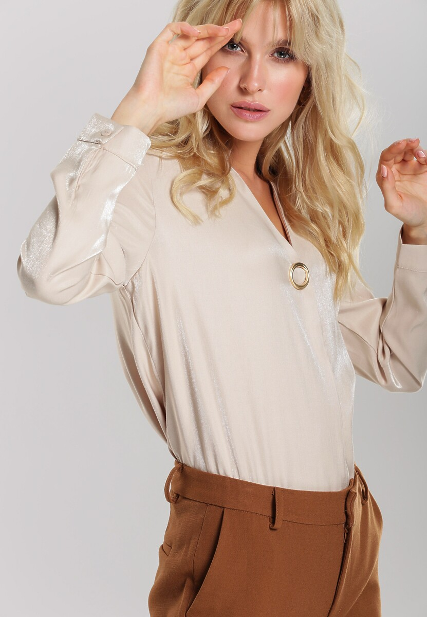 Beżowa Koszula Kori