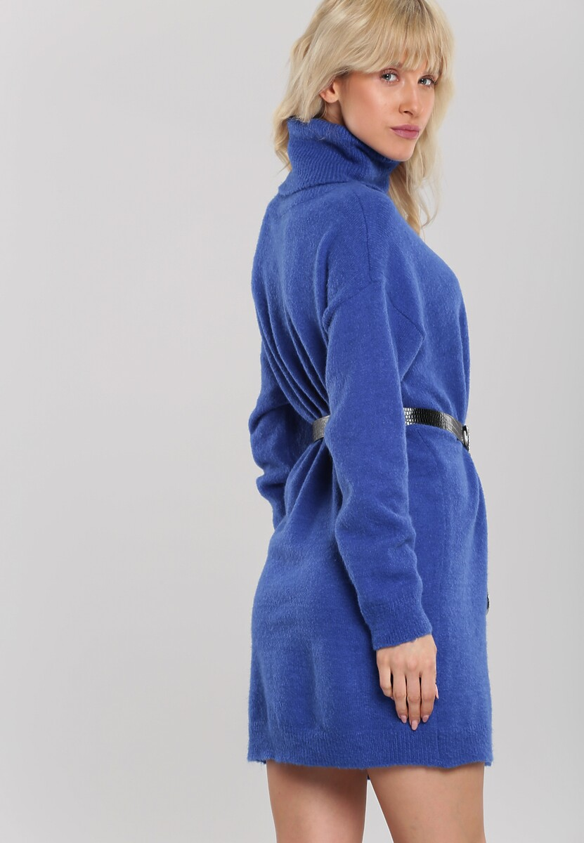 Ciemnoniebieska Sukienka Milana