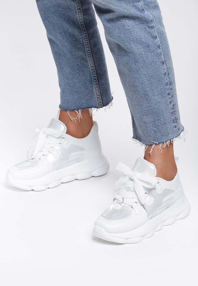 Białe Sneakersy Lady's Mantle
