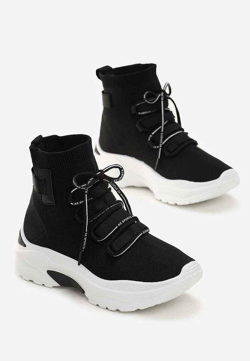 Czarne Sneakersy Kayla