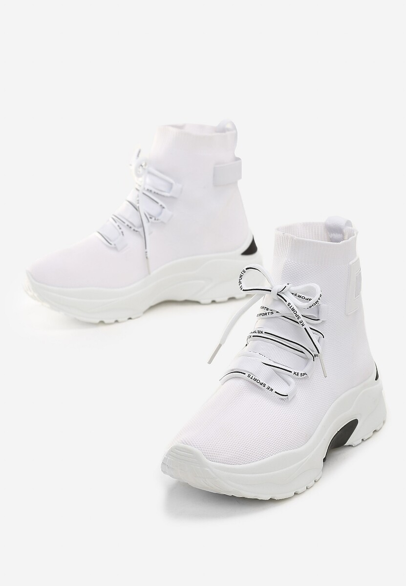 Białe Sneakersy Kayla