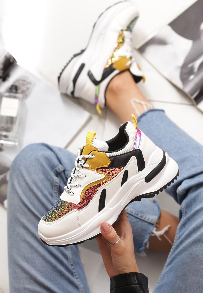 Białe Sneakersy Gaillardia