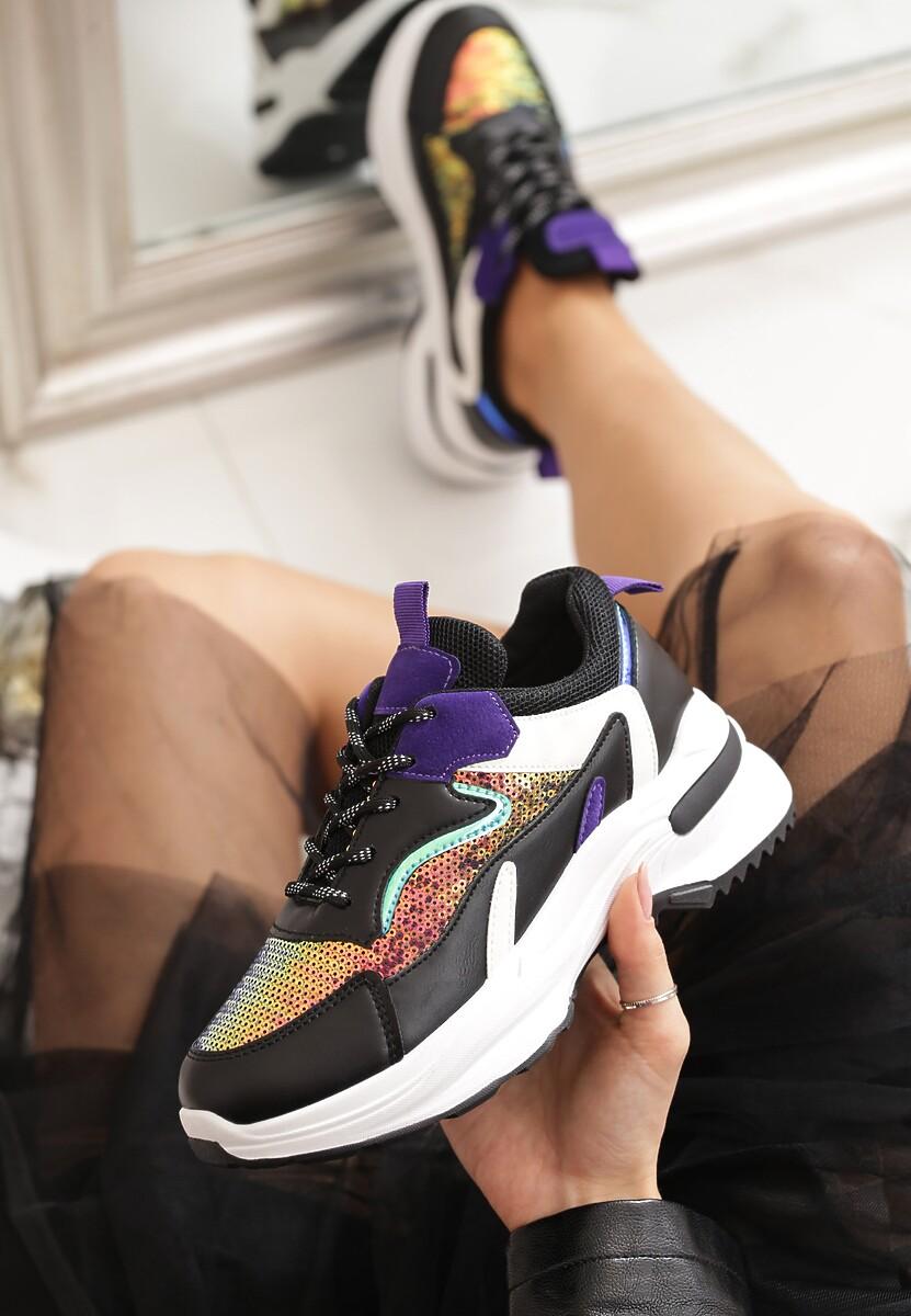 Czarne Sneakersy Gaillardia