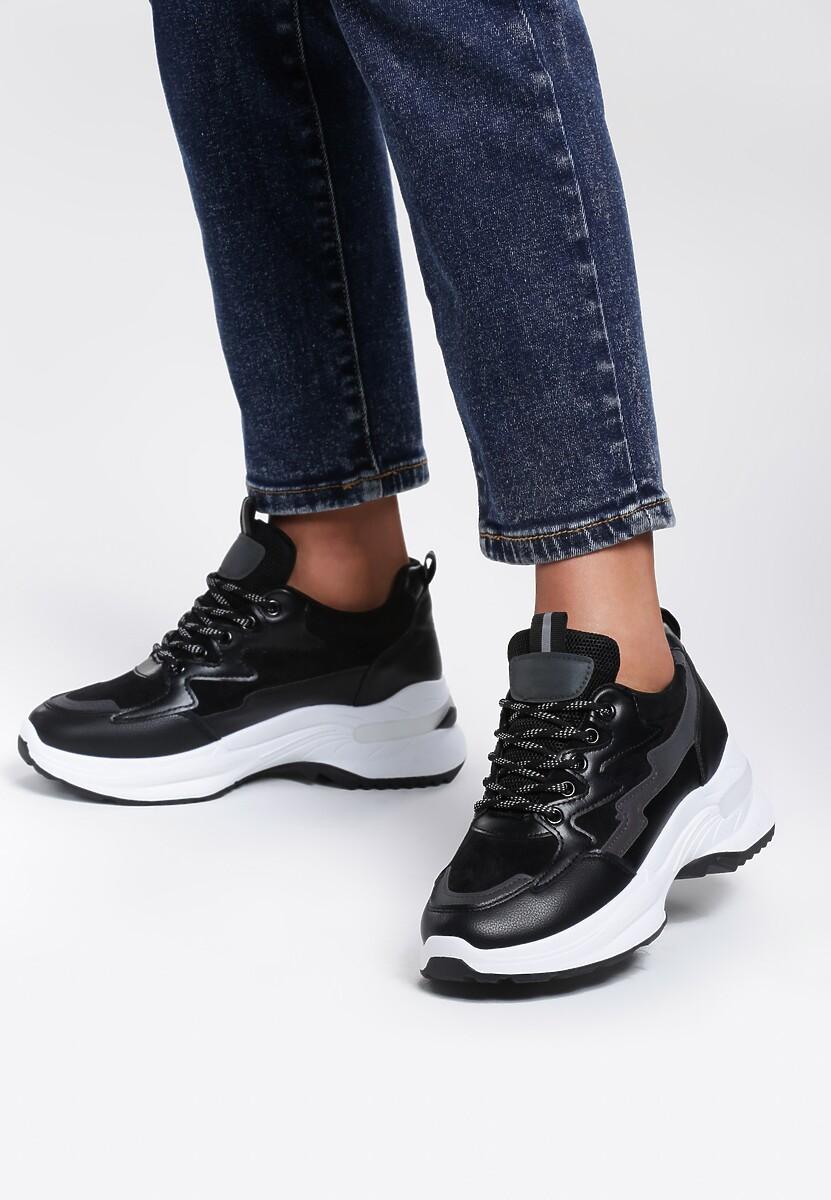 Czarne Sneakersy Fever Root