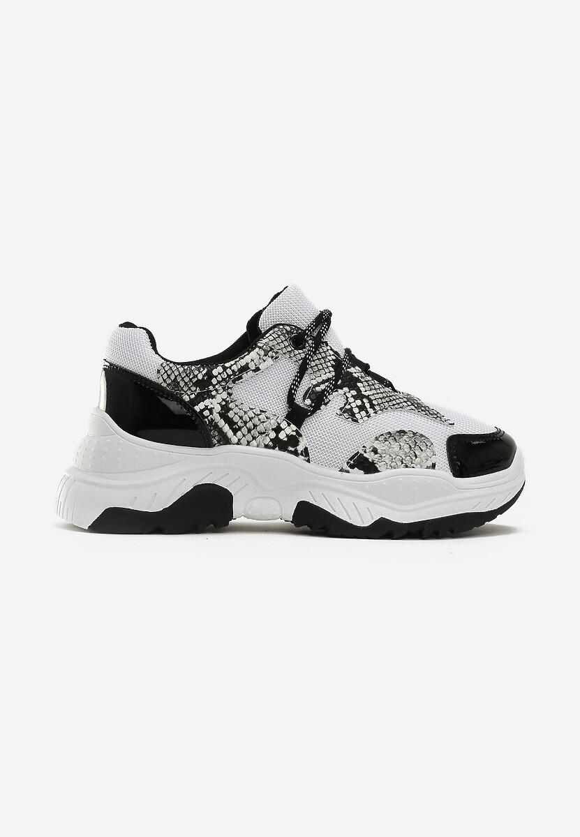 Białe Sneakersy Celosia