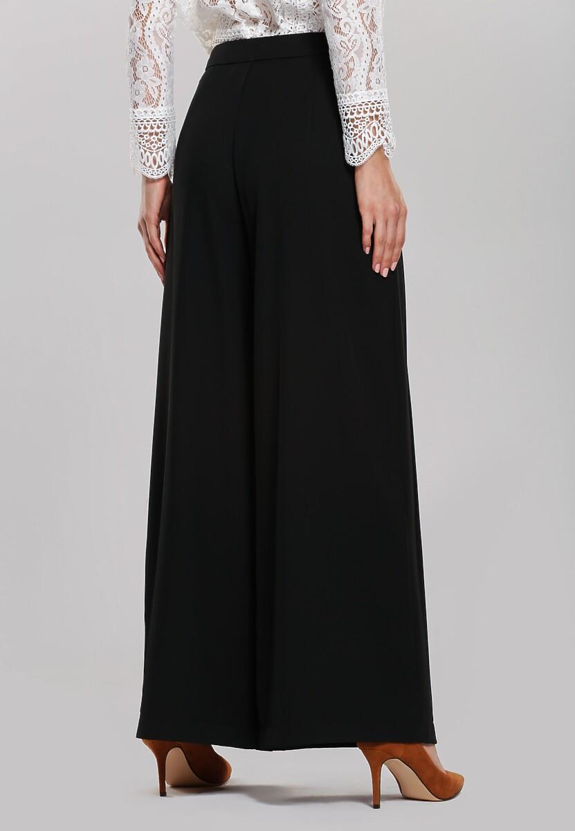 Czarne Spodnie Linseed