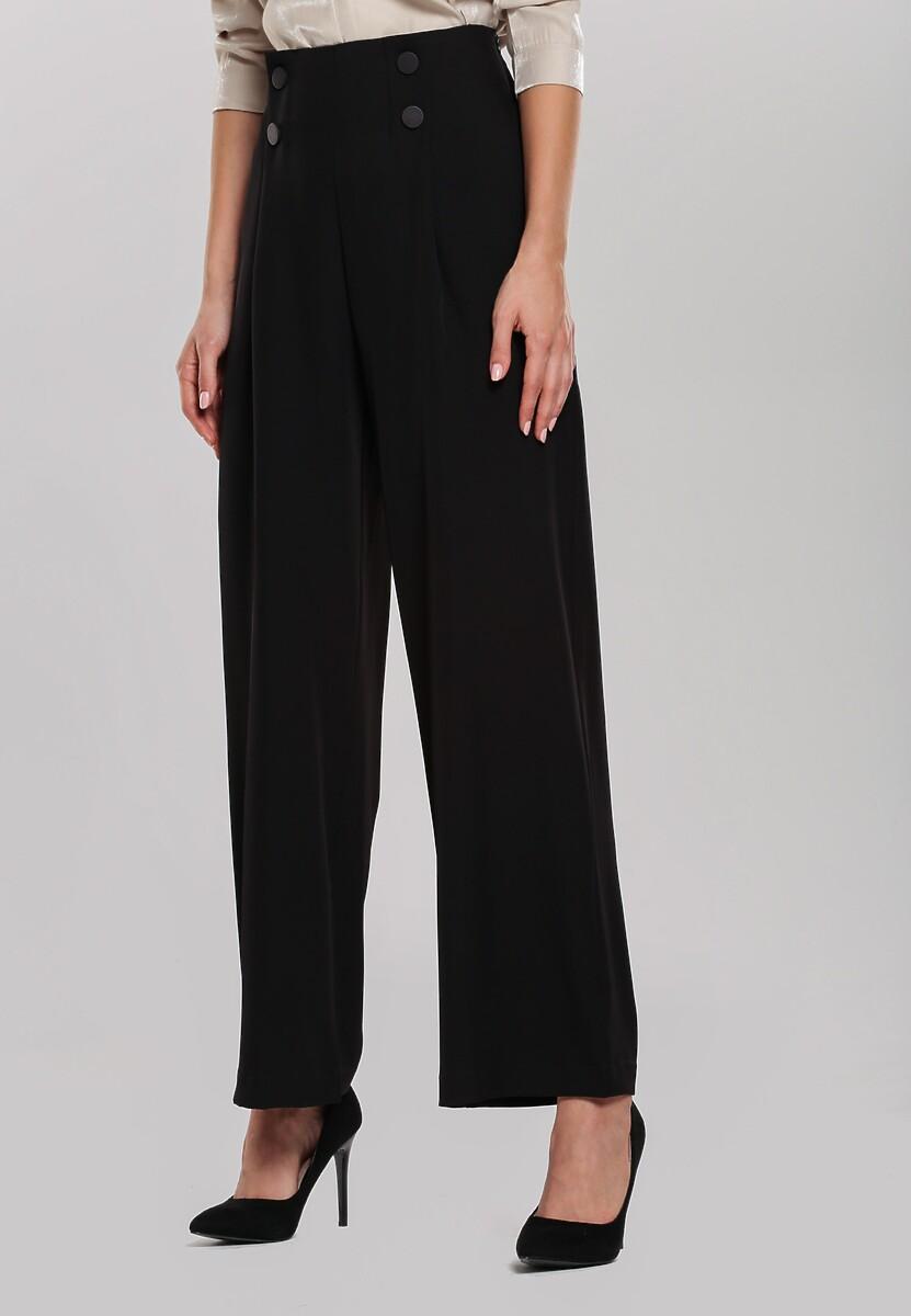Czarne Spodnie Euphoris