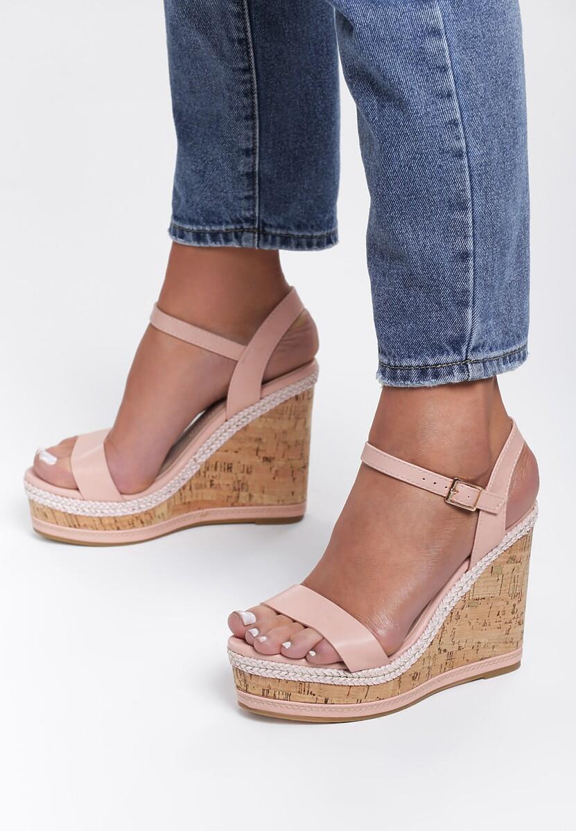 Różowe Sandały Kenia