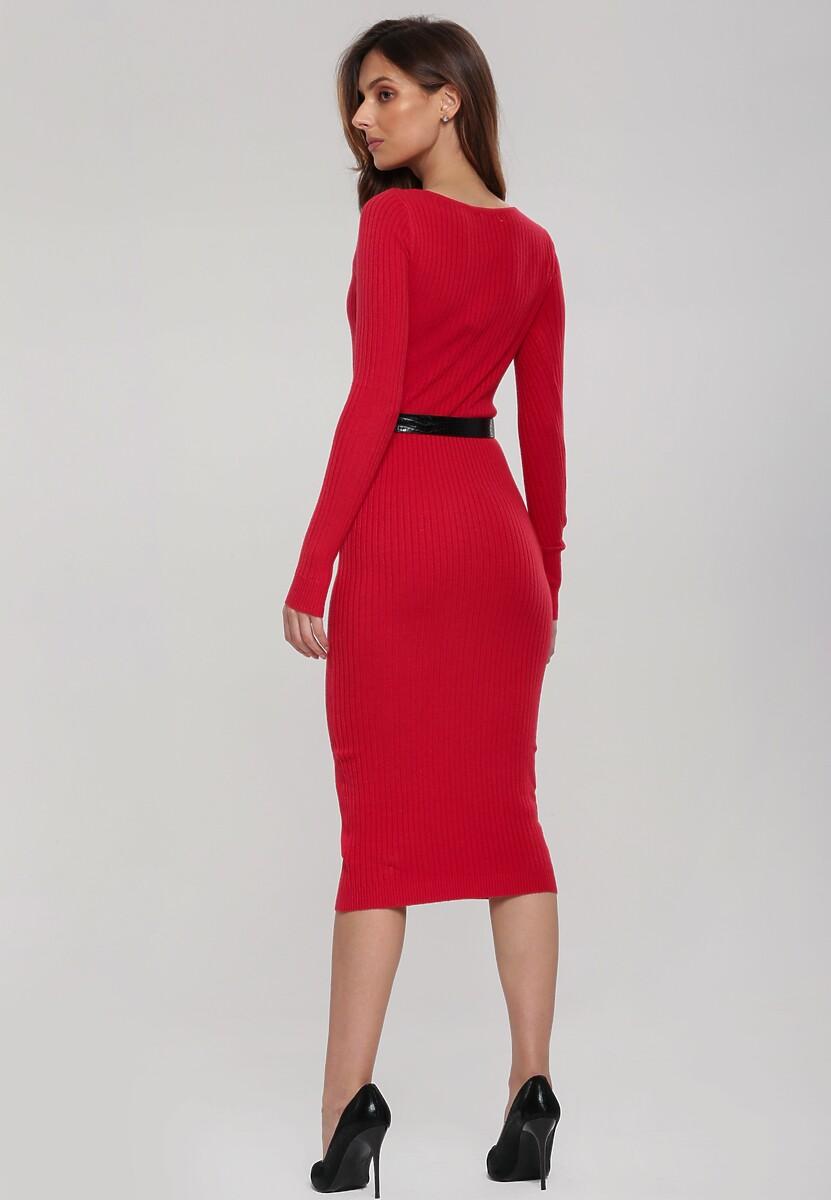 Czerwona Sukienka Alexandria