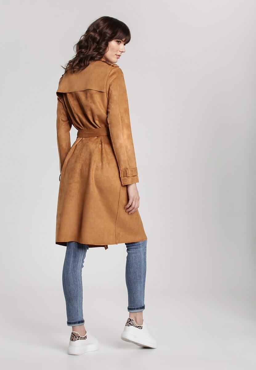 Camelowy Płaszcz Rosa