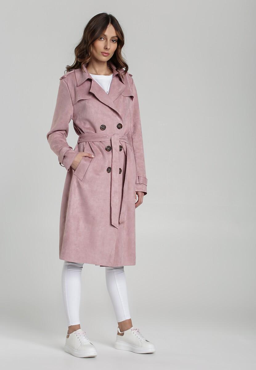 Jasnofioletowy Płaszcz Rosa