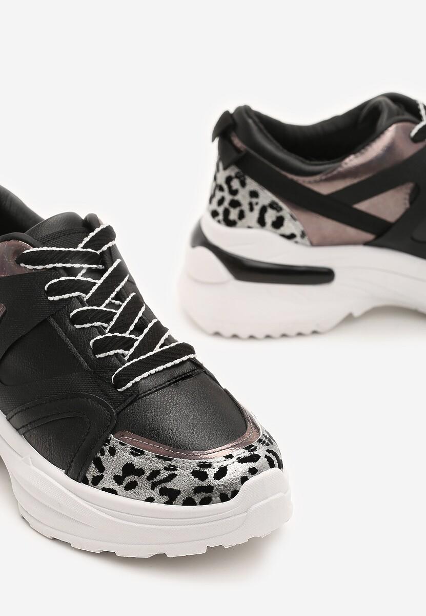 Czarne Sneakersy Nayeli