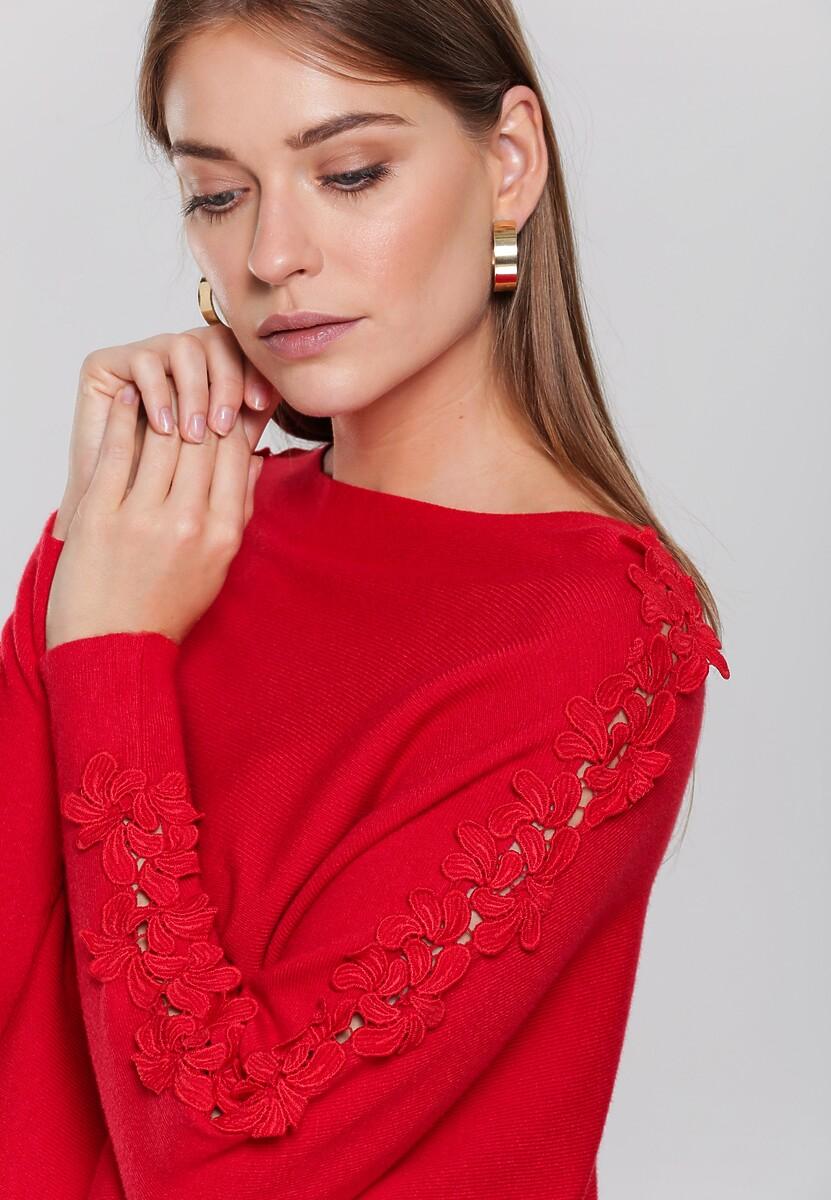 Czerwony Sweter Rosabel