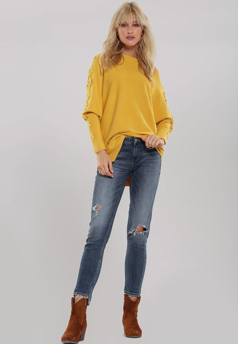 Żółty Sweter Rosabel