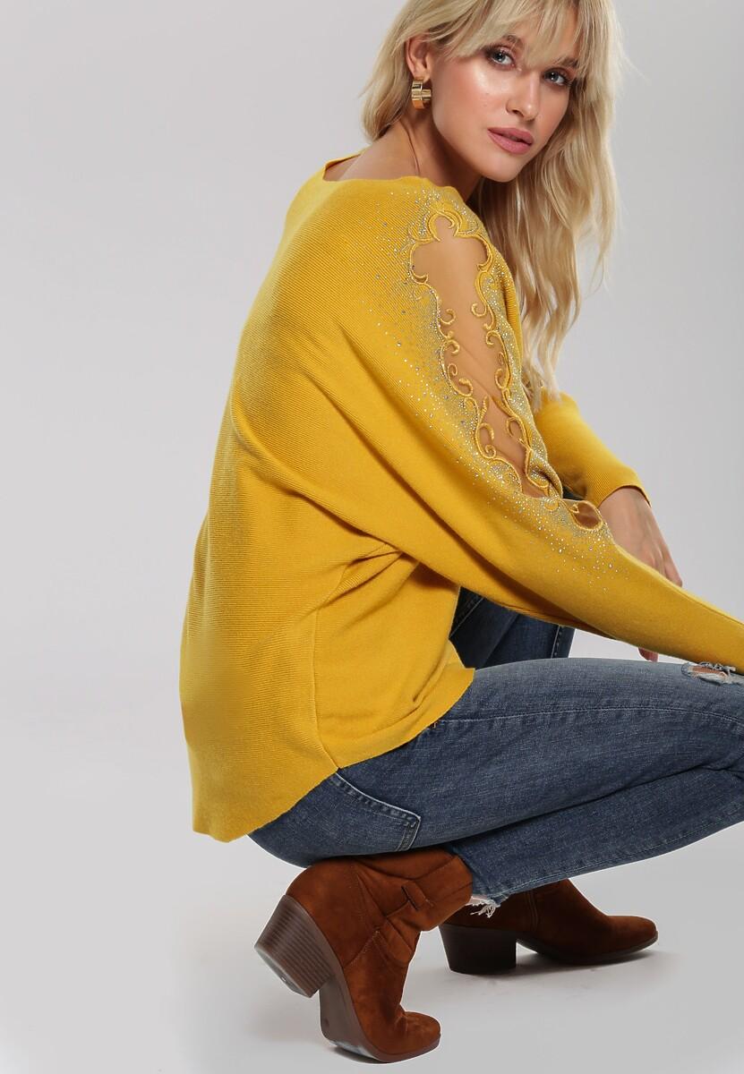 Żółty Sweter Orrin