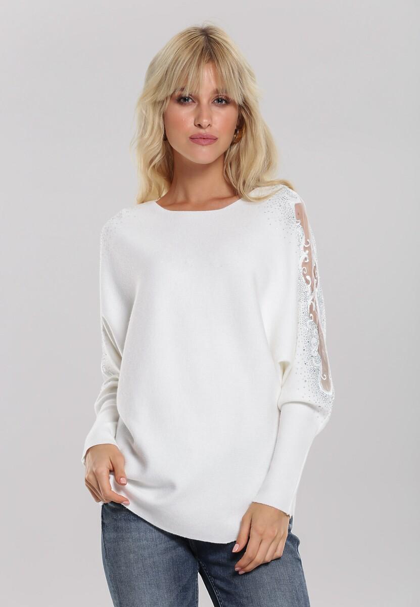 Biały Sweter Orrin