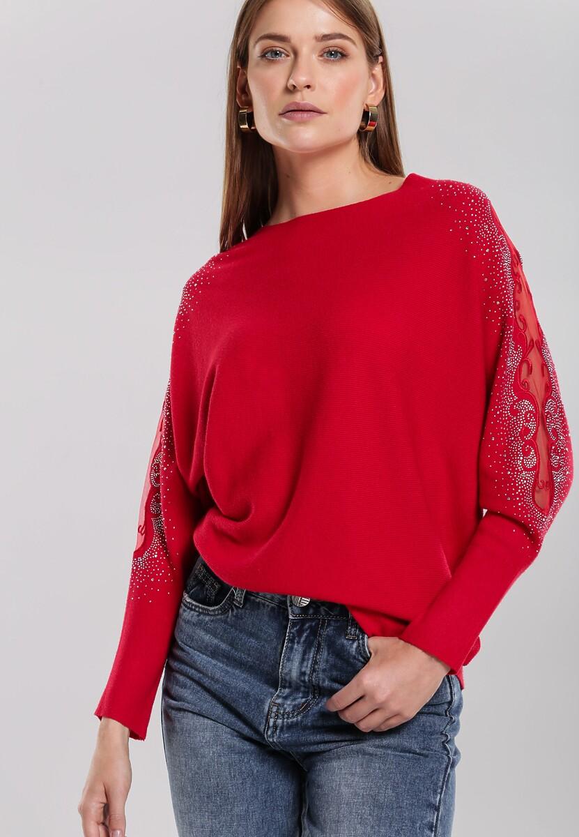 Czerwony Sweter Orrin