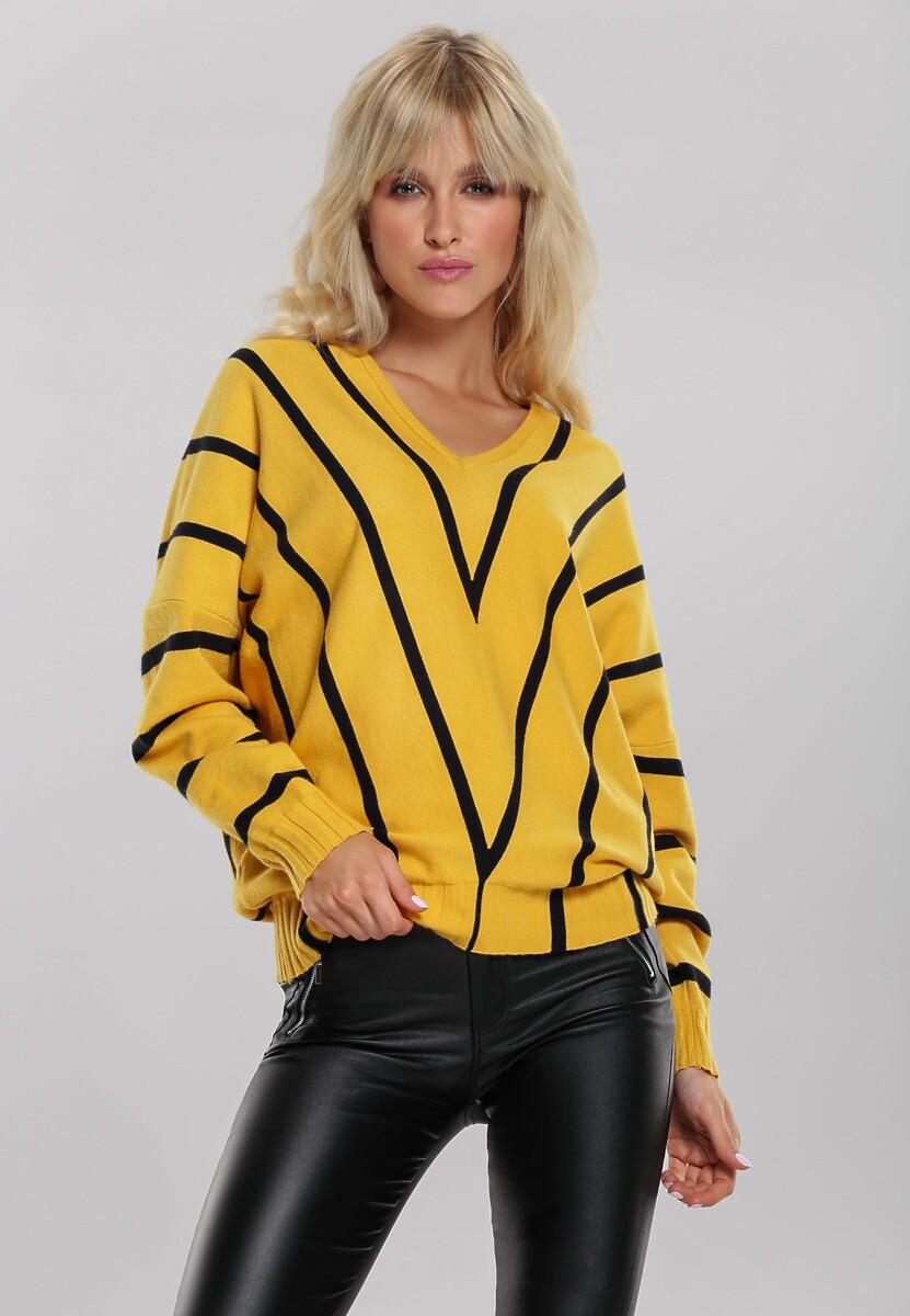Żółty Sweter Lindsey