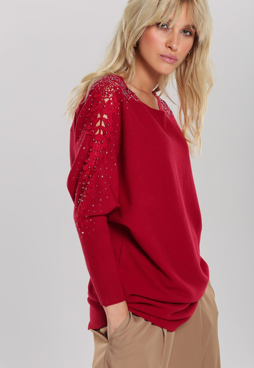 Czerwony Sweter Lina