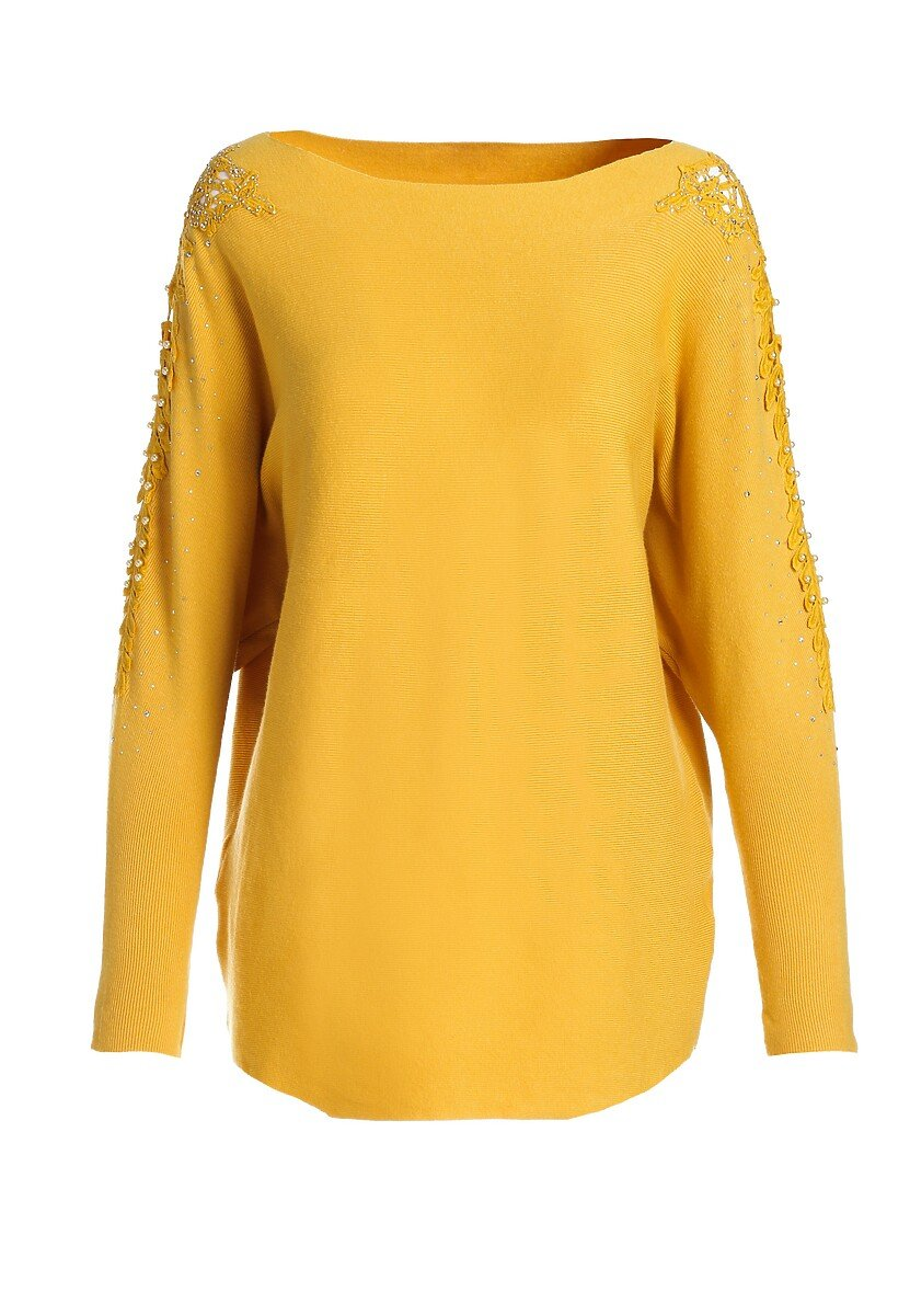 Żółty Sweter Lina