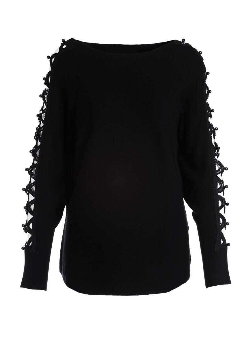 Czarny Sweter Olympia