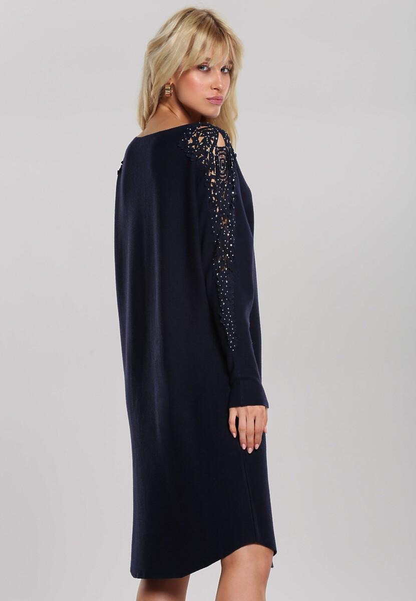 Granatowa Sukienka Estelle