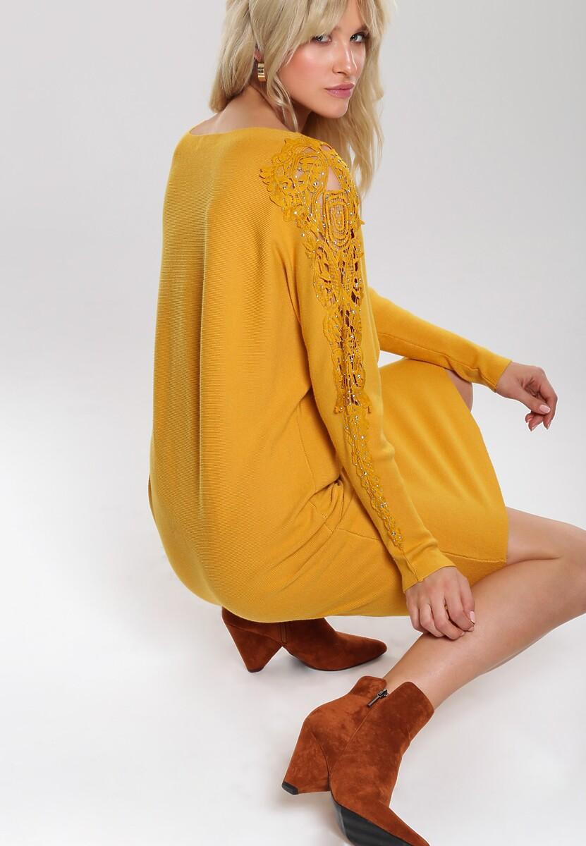 Żółta Sukienka Estelle