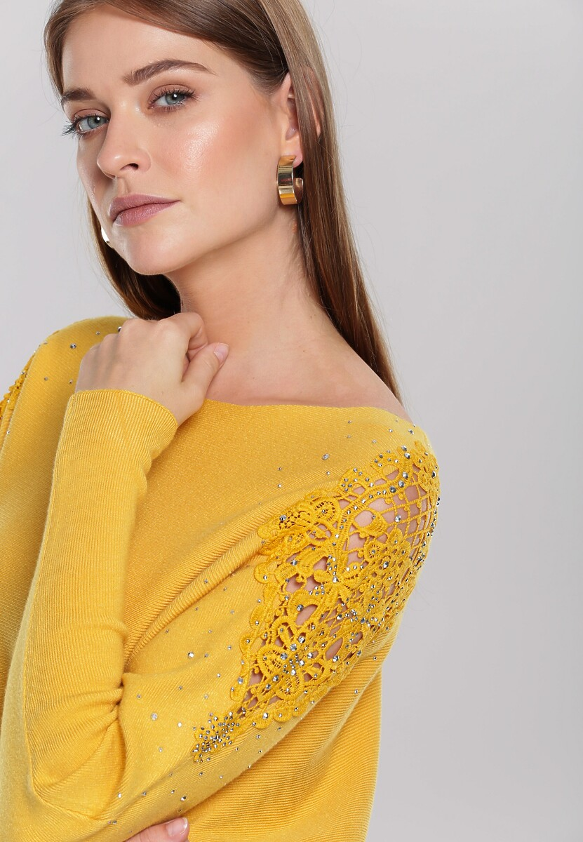 Żółty Sweter Holland