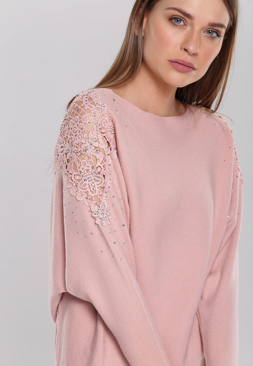 Różowy Sweter Holland