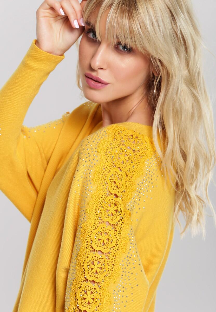 Żółty Sweter Rosalyn
