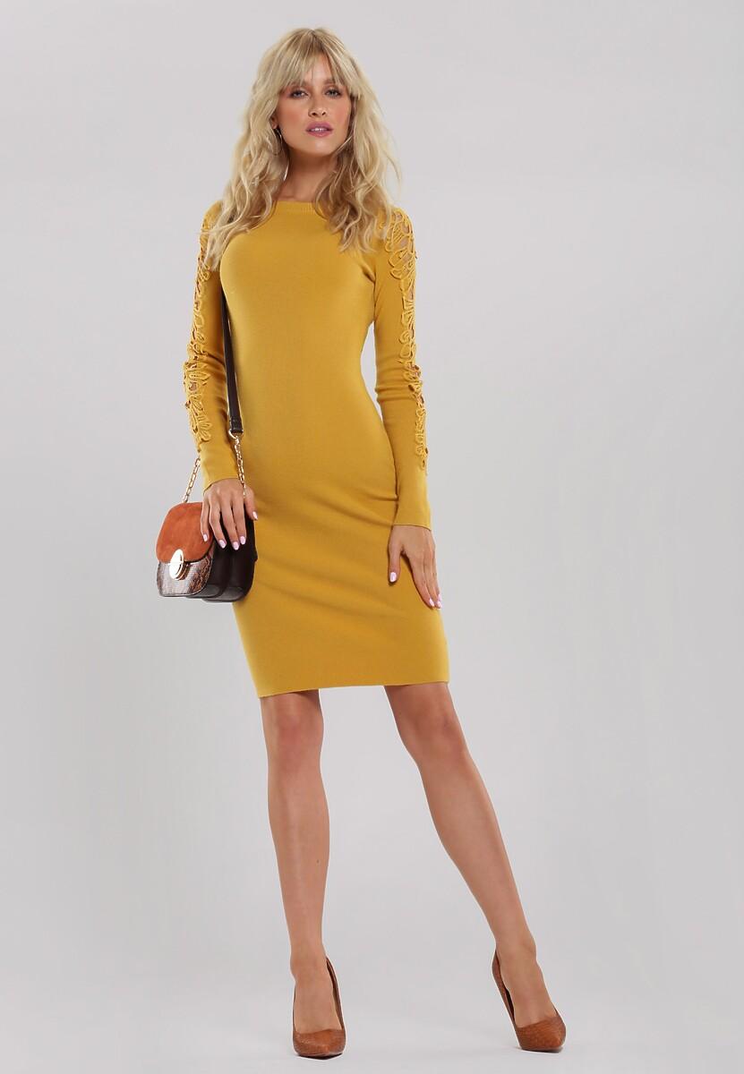Żółta Sukienka Oriana