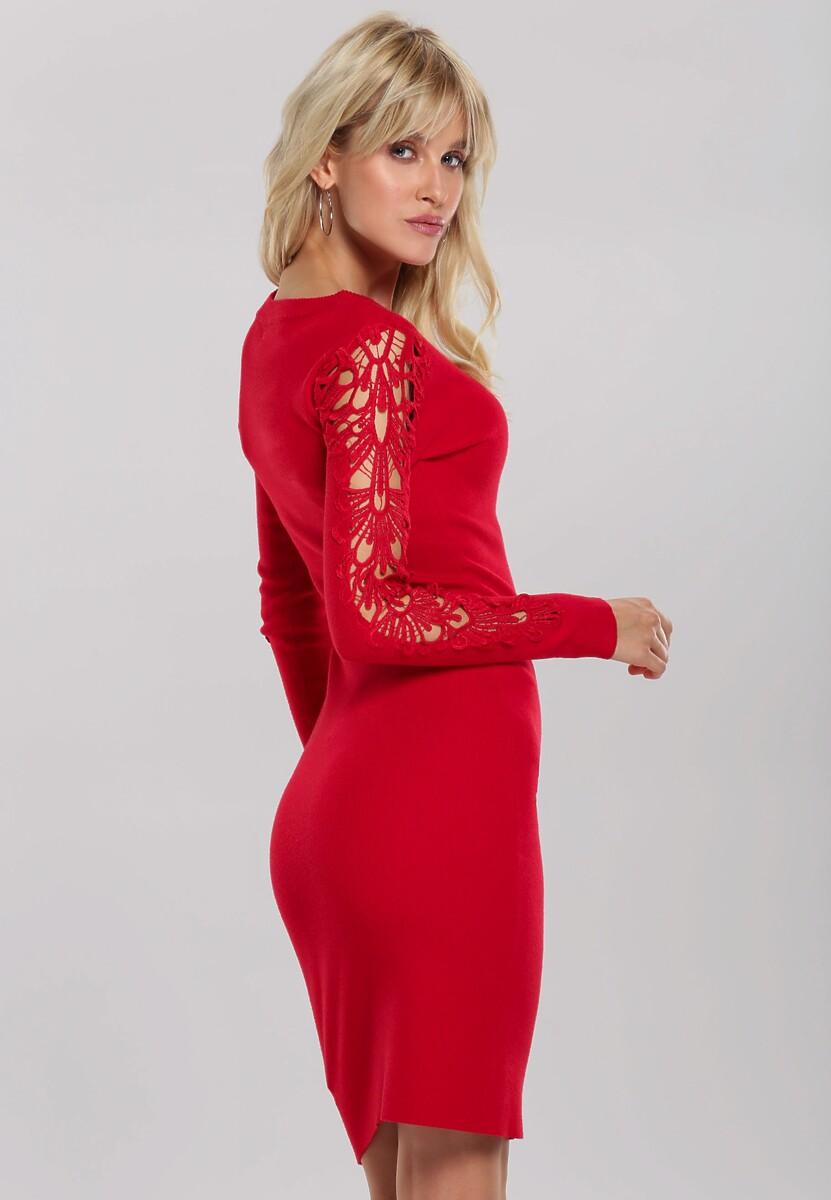 Czerwona Sukienka Oriana