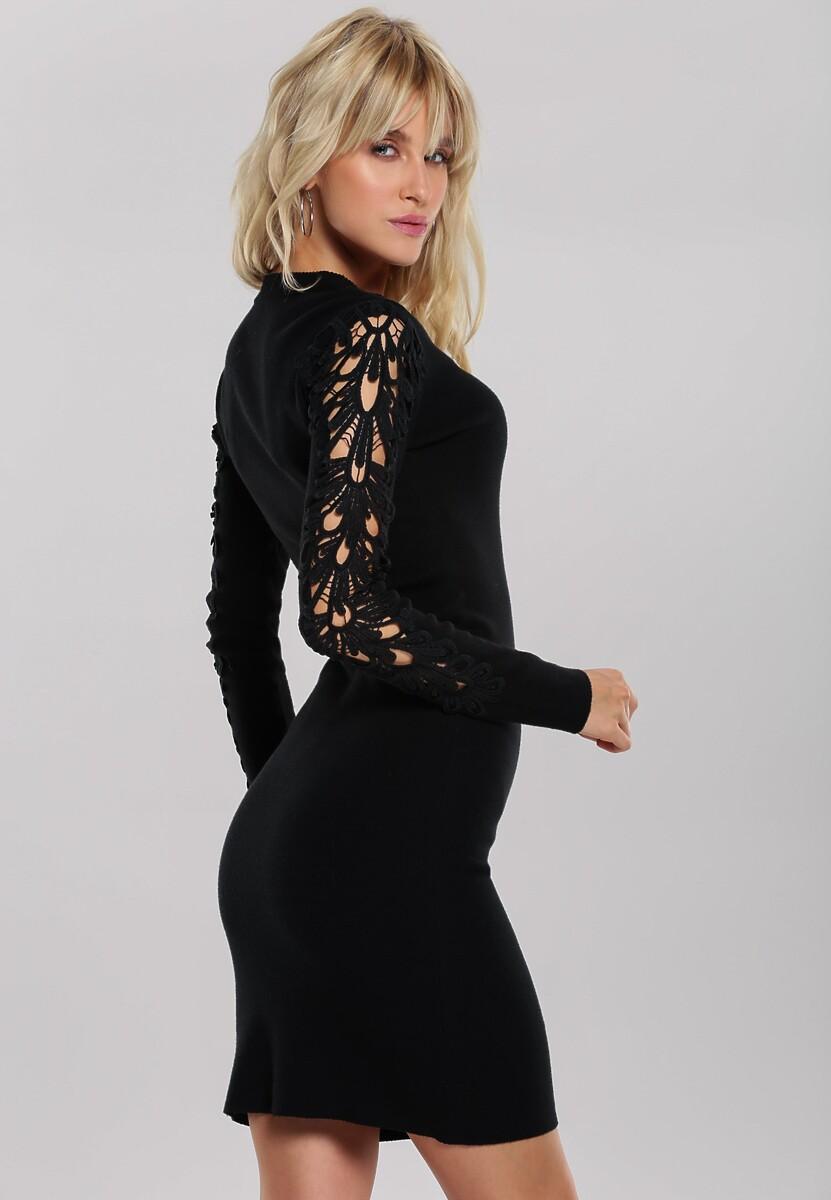 Czarna Sukienka Oriana