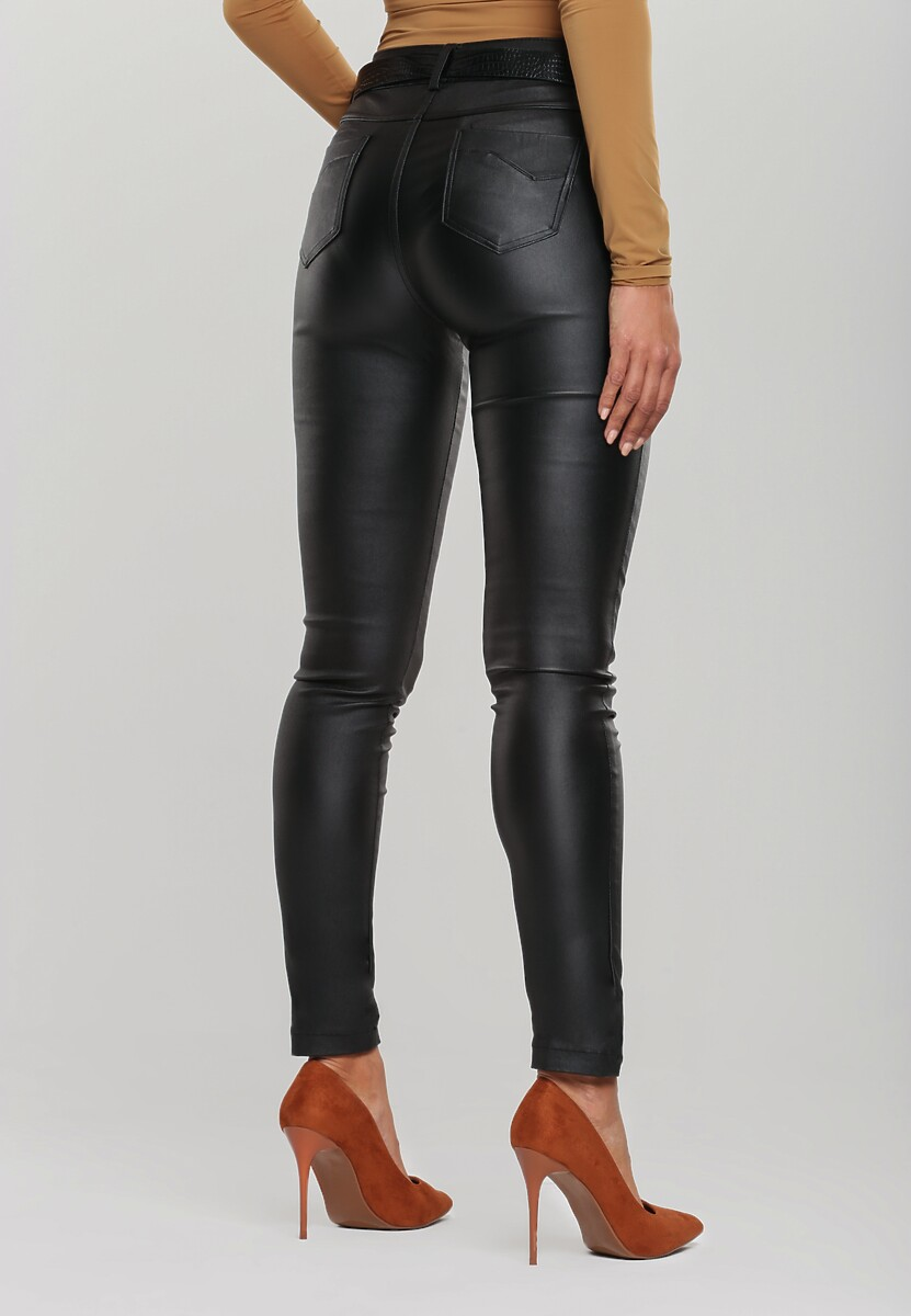 Czarne Spodnie Lyra