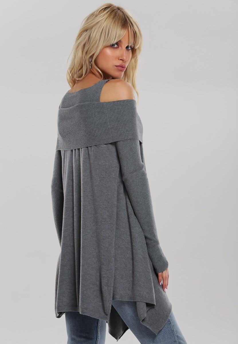 Szary Sweter Janiyah
