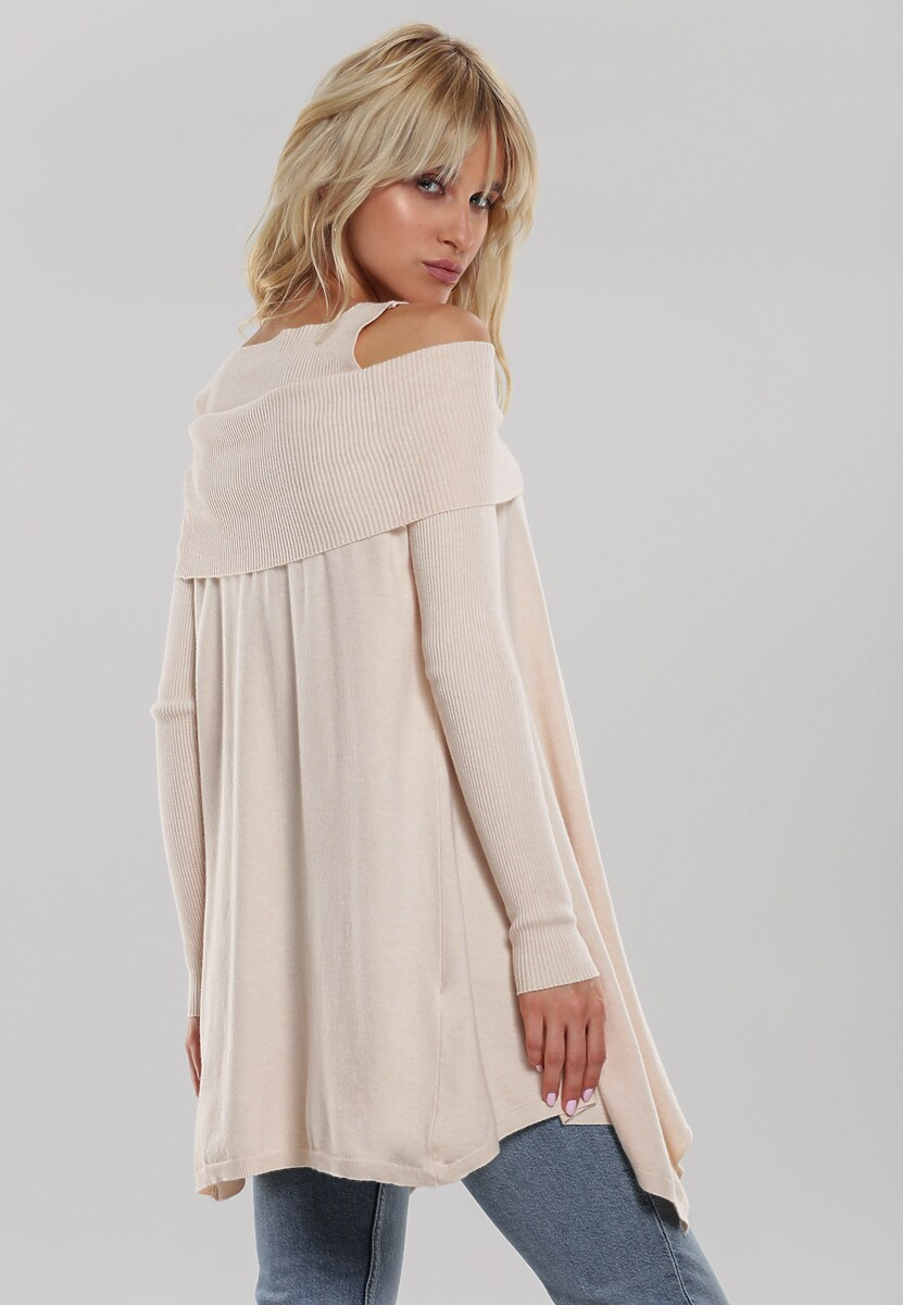 Kremowy Sweter Janiyah