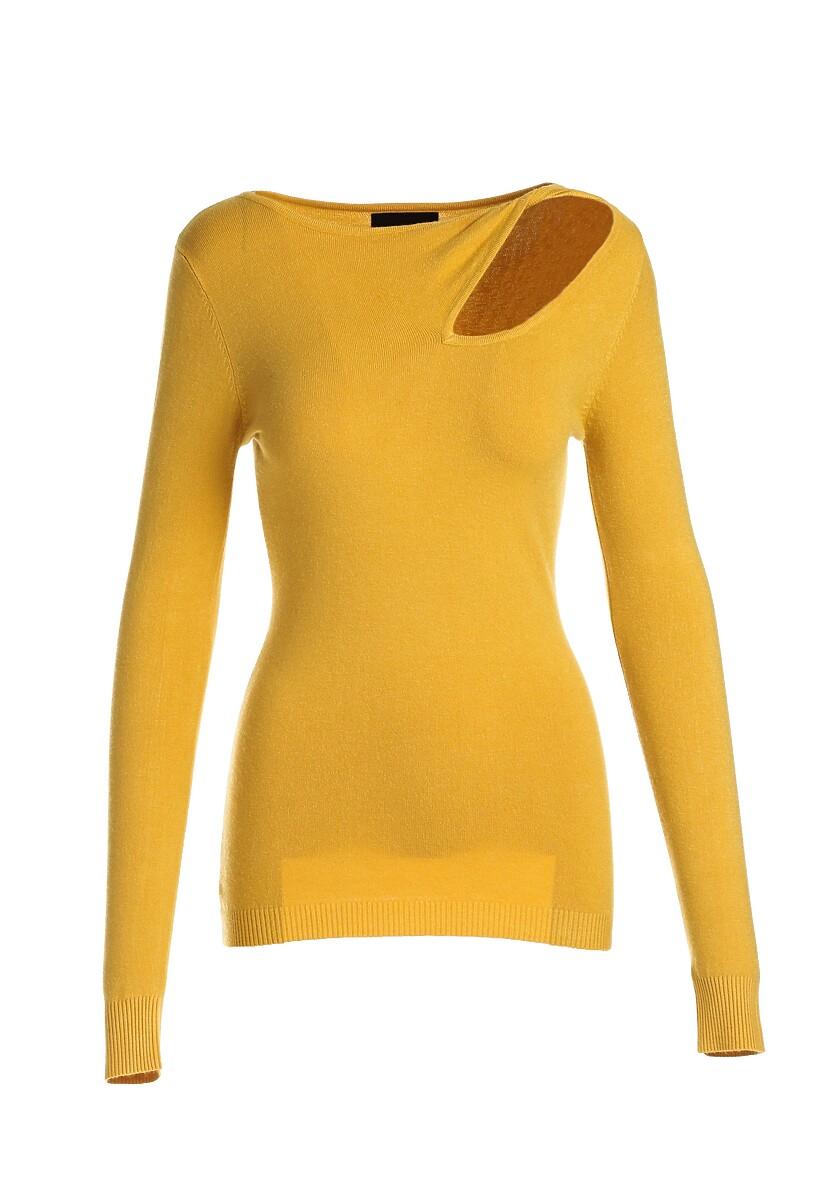 Żółty Sweter Jamie