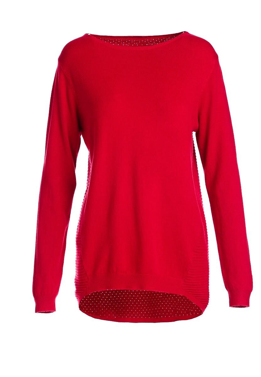 Czerwony Sweter Aitana