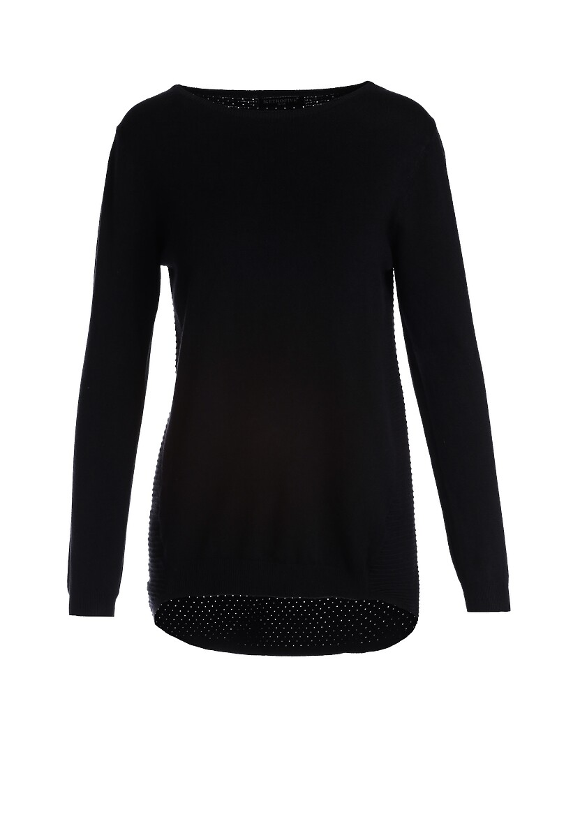 Czarny Sweter Aitana