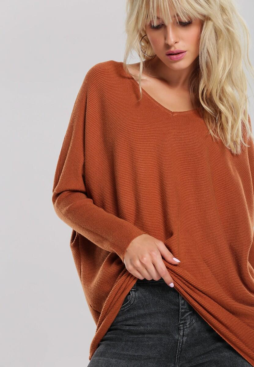 Brązowy Sweter Kathryn