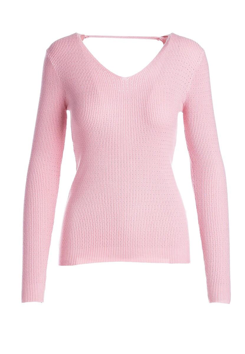 Różowy Sweter Hallie