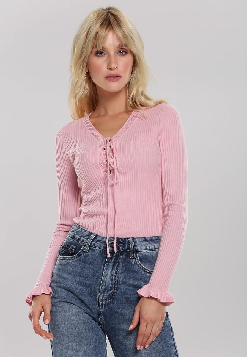 Różowy Sweter Colette